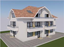 Apartamente 3 camere cu gradina de vanzare in Apahida