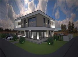 Apartament 4 camere cu gradina in vila zona Manastur