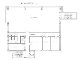 Spatiu pentru birouri 180 m, open space zona D Rotund
