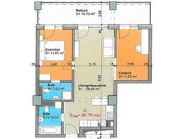 Apartament 3 camere imobil nou Gheorgheni