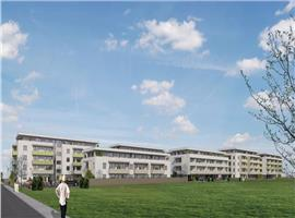 Apartamente 2 camere 54 mp cu terasa 25 mp imobil nou in Sannicoara