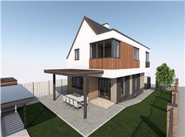 Casa moderna 4 camere in Andrei Muresanu, Cluj