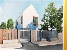 Case cuplate cu 4 camere si 275 m teren in Someseni,Cluj Napoca