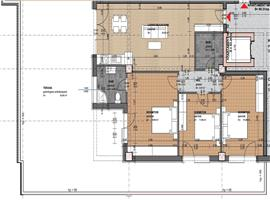 Apartament 4 camere 93.20 mp plus terasa imobil nou