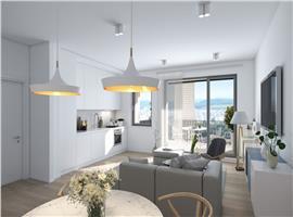 Apartament1  camera finisat in imobil nou zona Mihai Viteazul