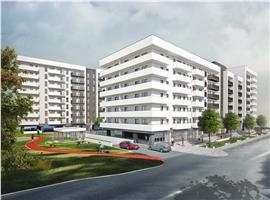 Apartamente 1 camera in Marasti, imobil nou semifinisate.