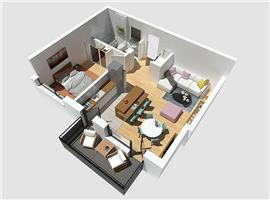 Vanzare apartament 2 camere Donath Park Cluj-Napoca