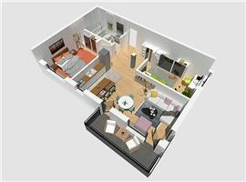 Vanzare apartament 3 camere Donath Park Cluj-Napoca