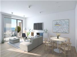 Apartament 3 camere cu gradina, finisat zona semicentrala Cluj Napoca