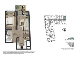 Apartament 2 camere imobil nou centru, Cluj Napoca
