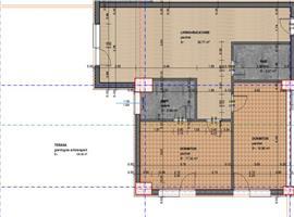 Apartament 3 camere cu 104 m terasa zona Intre Lacuri
