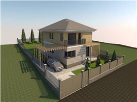 Vanzare casa cu 4 camere si 500 m teren in Chinteni