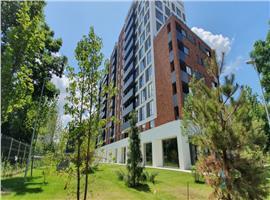 Apartament penthouse 104 mp si 37 m terasa in Marasti imobil nou