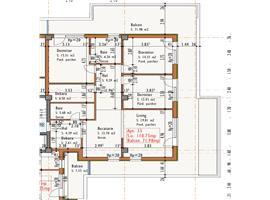 Apartament 4 camere 110 mp si 72 terasa in Cluj, zona Marasti