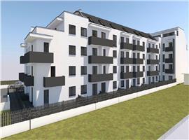Apartament cu 2 camere si 40m terasa de vanzare imobil nou, Someseni
